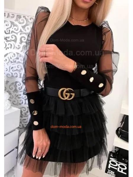 Стильная женская блузка с пуговицами