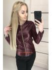 Модна шкіряна куртка піджак
