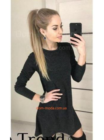 Модное недорогое платье трапеция