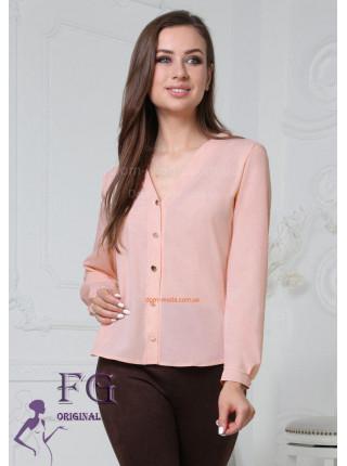 Недорога жіноча блузка із довгим рукавом