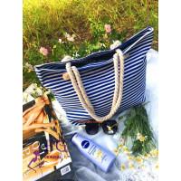 Стильная женская пляжная сумка