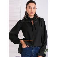 Стильная женская блузка с широкими рукавами