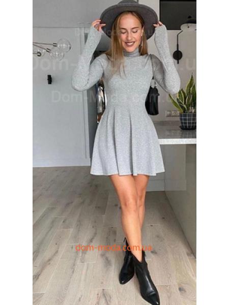 Короткое платье гольф