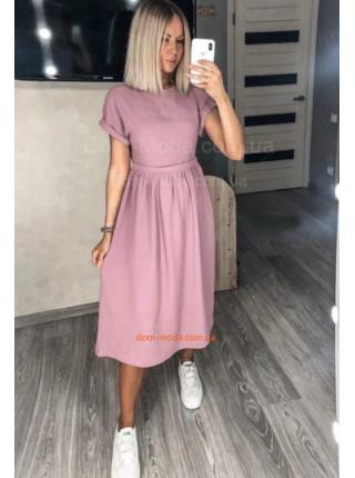 Легке літнє плаття міді