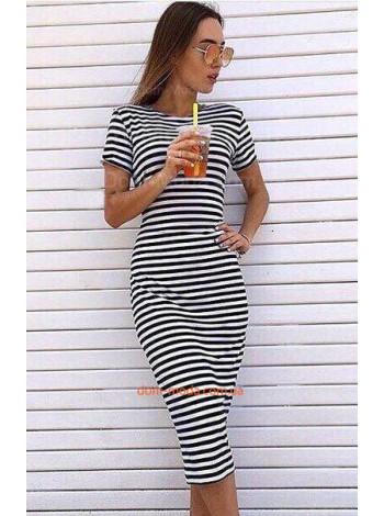 """Модное платье в полоску для женщин  """"Stella"""""""