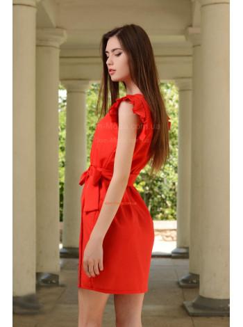 "Жіноче стильне плаття сарафан із креп шифону ""Modest"""