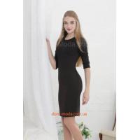 Женское облегающее платье с рукавом