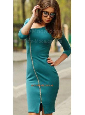 Облегающее платье женское на молнии