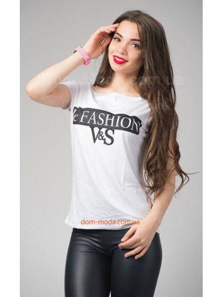 """Стильная женская футболка с коротким рукавом """"Челси"""""""