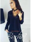 Жіноча елегантна блуза з мереживом
