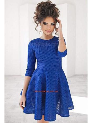 Вечернее женское платье из неопрена