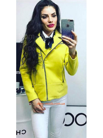Женская стильная куртка пиджак из кашемира