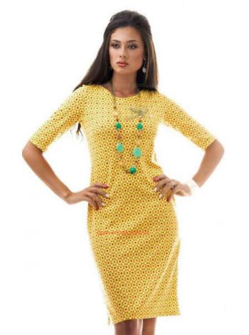 """Роскошное яркое платье """"Геометрия"""""""