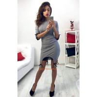 """Элегантное вечернее платье """"Подвязка"""""""