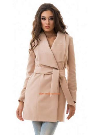 """Коротке кашемірове пальто із поясом """"Ламбре"""""""