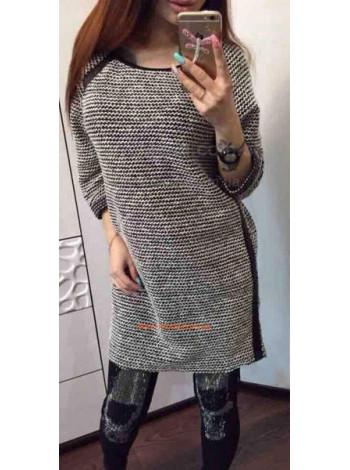 """Стильное платье с длинным рукавом """"Инга"""""""