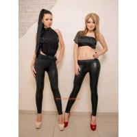 Женские модные черный лосины леггинсы