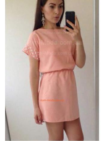"""Літнє коротке плаття із рукавом """"Лейла"""""""