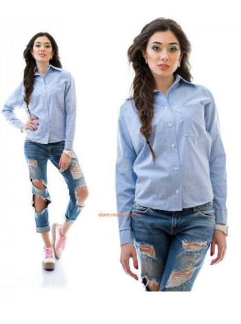Женская повседневная рубашка на пуговицах