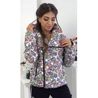 Куртка косуха жіноча із плащової тканини