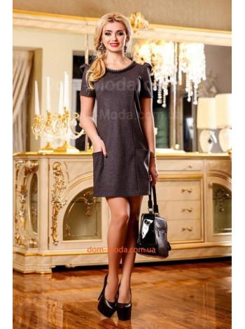 """Короткое женское платье """"Бизнес-леди"""""""
