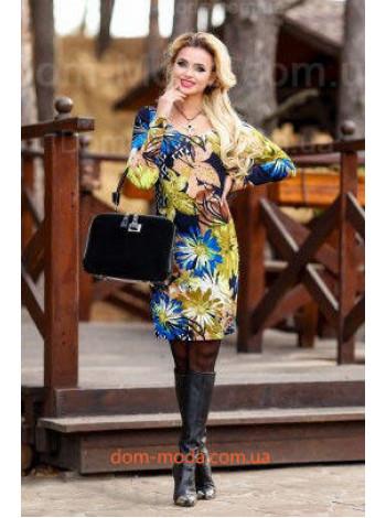 """Стильное женское платье из трикотажа """"Marissa"""""""