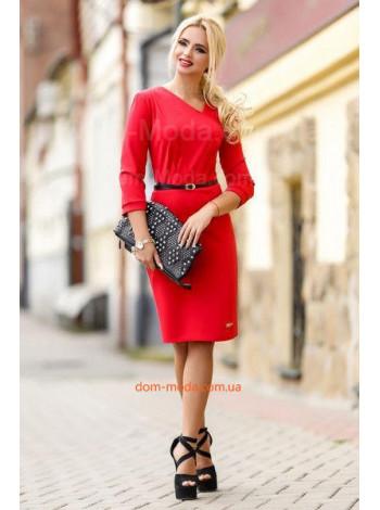 """Жіноче модне плаття в діловому стилі """"Caroline"""""""