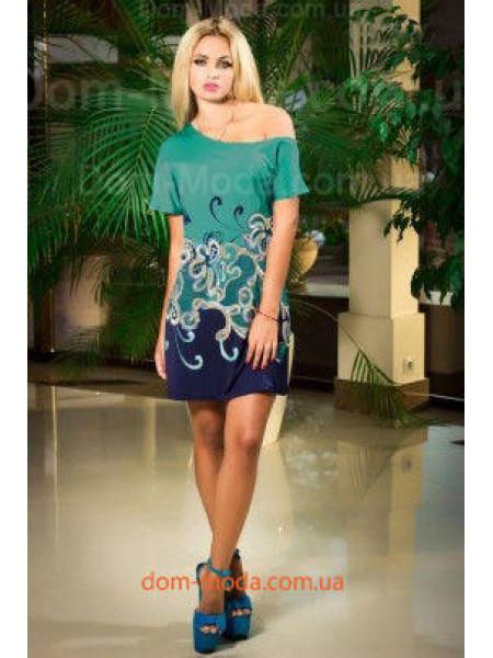 """Стильне літнє плаття з коротким рукавом """"Malvina"""""""