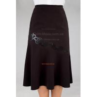 """Стильная женская юбка большого размера """"Колокольчик"""""""