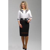Женская классическая юбка большого размера