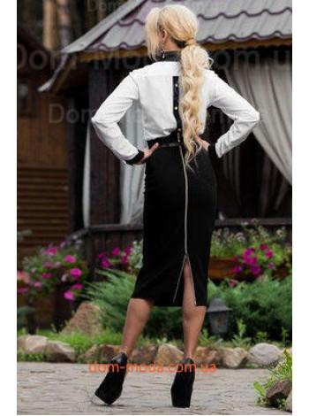 """Женская модная юбка миди с завышенной талией """"Arish"""""""