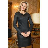Женское модное платье офисное