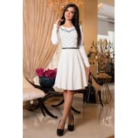 Модное коктейльное платье короткое