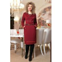 Женское деловое платье большого размера