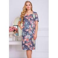 Літнє ділове плаття жіноче великого розміру