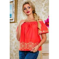 Модна літня блузка з рукавом жіноча