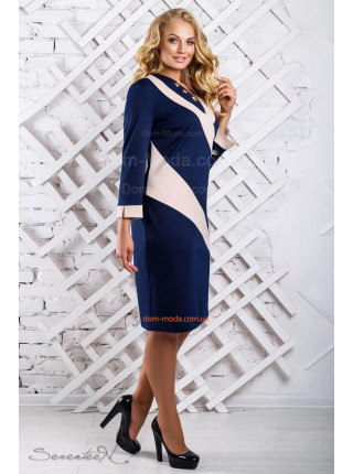 ... Жіноче модне плаття з довгим рукавом великого розміру 3fc660f8f70c1