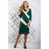 Жіноче модне плаття з довгим рукавом великого розміру