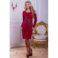 Изысканное платье женское с длинным рукавом