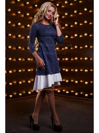 Красивое асимметричное платье