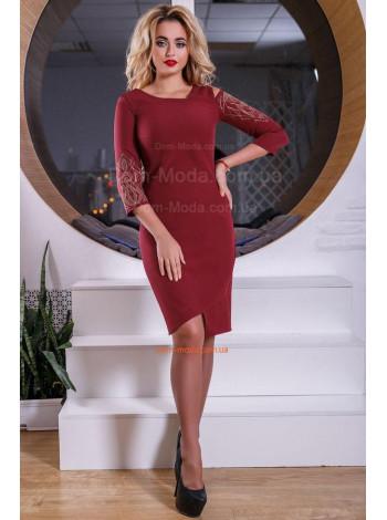Оригинальное нарядное женское платье