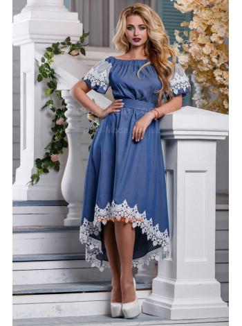 Красивое женское платье летнее