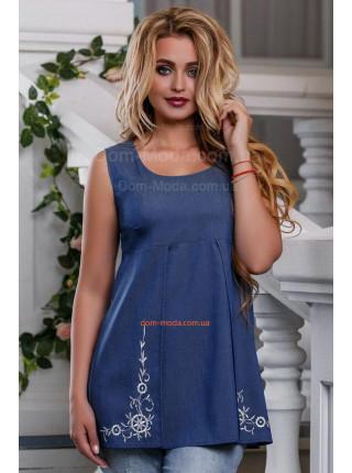 Блуза женская удлиненная