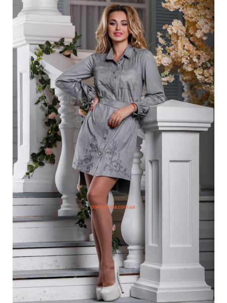 Плаття рубашка з вишивкою Плаття рубашка з вишивкою КУПИТИ ОНЛАЙН 00dea8bef6b6a