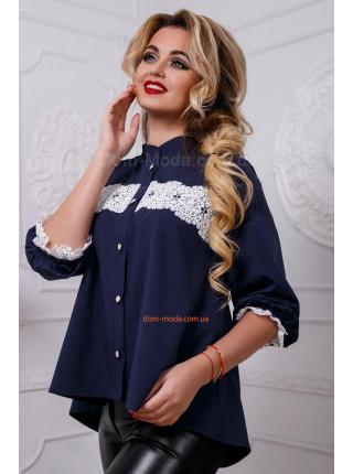 Нежная блуза с рукавом