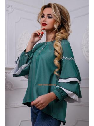 Блузка женская свободного кроя