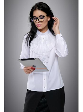 Женская стильная блуза для офиса