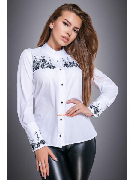 КУПИТИ ОНЛАЙН КУПИТИ ОНЛАЙН. Біла класична блуза на ґудзиках ... fde070627f657