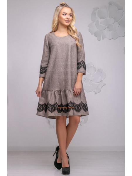 Женское модное платье свободного кроя
