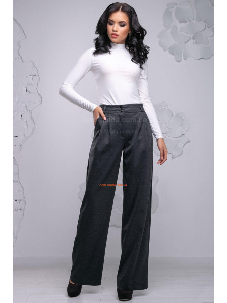 Класичні широкі штани жіночі